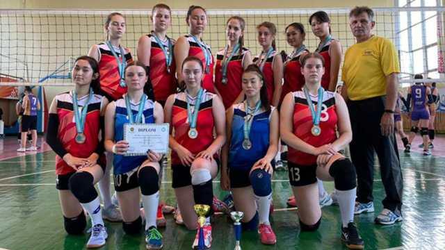 Волейболистки из Костаная стали вторыми на чемпионате Казахстана