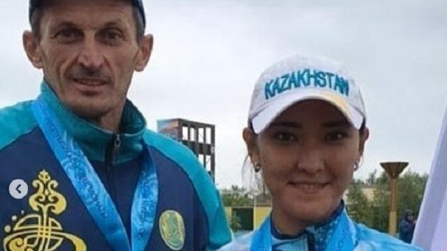 Айнура Бажева — чемпион Казахстана с новым рекордом