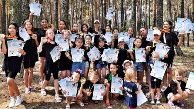 Юные танцоры из Костанайской области устроили фурор в Боровом