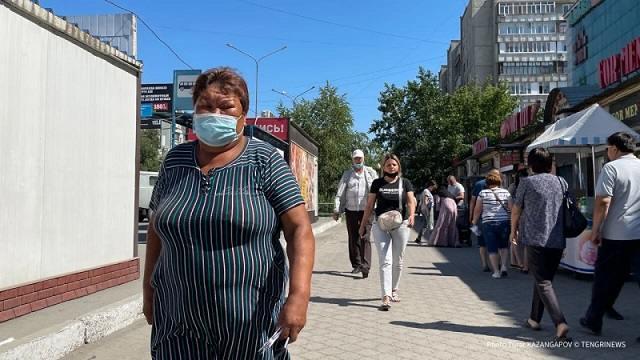 5493 заболевших коронавирусом выявили в Казахстане за последние сутки