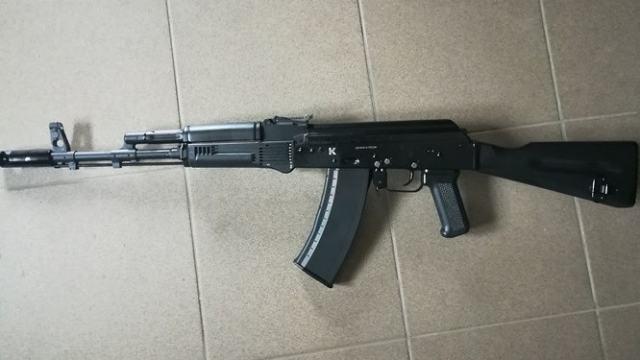 Макет автомата Калашникова украл житель Костанайской области