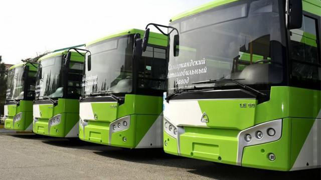 50 новых автобусов будут возить жителей Костаная