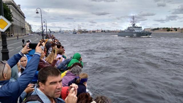 Парад ко Дню Военно-морского флота покажет Первый канал
