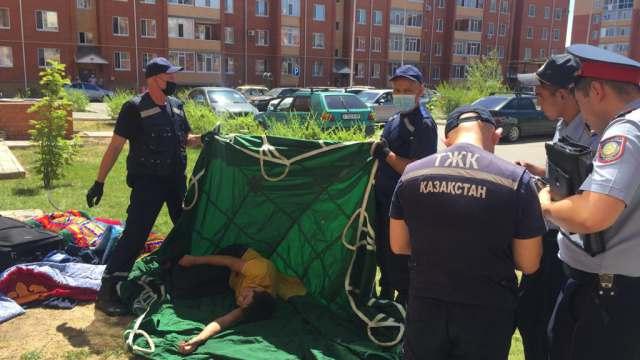 Житель Костаная упал с высоты 3 этажа: Официальная информация