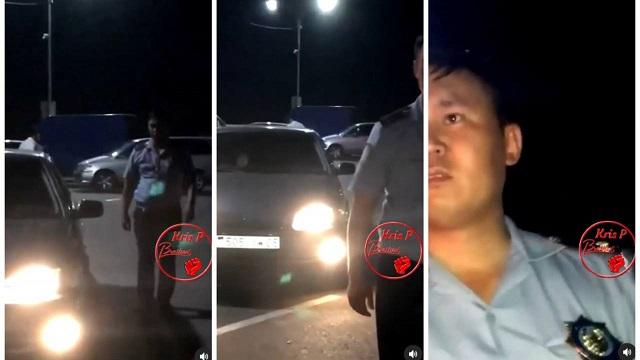 Общение с грубым полицейским из Капшагая попало на видео