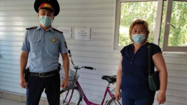 Розовый велосипед угнал сельчанин в Костанайской области