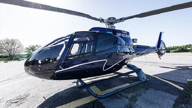 Вертолет потерпел крушение в Алматинской области