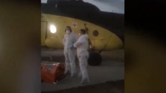 Сельчане прогнали вертолет с врачами, обвинив в «заброске» вируса