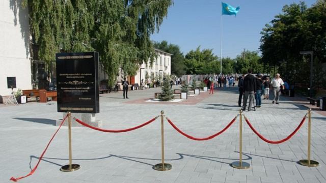 Новая аллея в центре Тобыла — подарок властей и бизнесменов