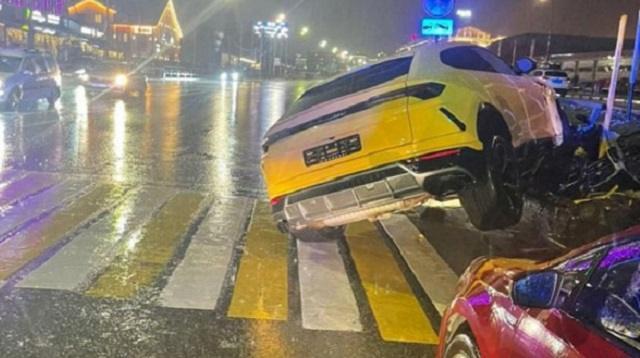 19-летний водитель арендовал Lamborghini в Сочи и разбил его