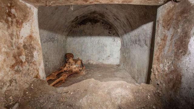 Мумию ставшего богачом раба нашли в Помпеях
