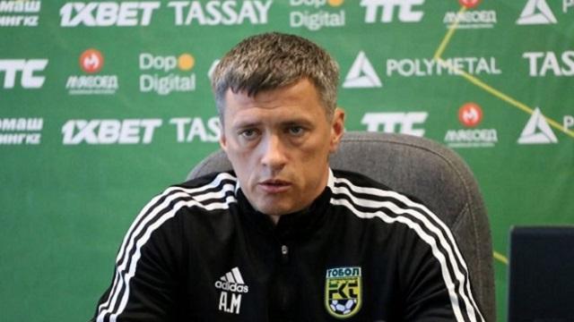 Александр Москаленко — главный тренер «Тобола»