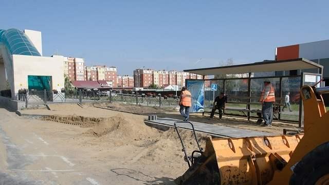 Ближе к переходу перенесена остановка у ТРЦ «Kostanay Plaza»