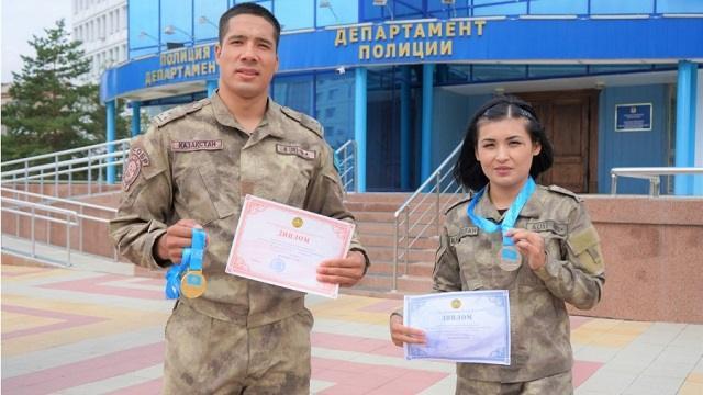 СОБРовцы Костаная вернулись с медалями с Кубка страны по самбо
