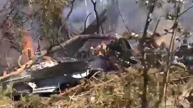 Самолет Ил-112В потерпел крушение в Подмосковье