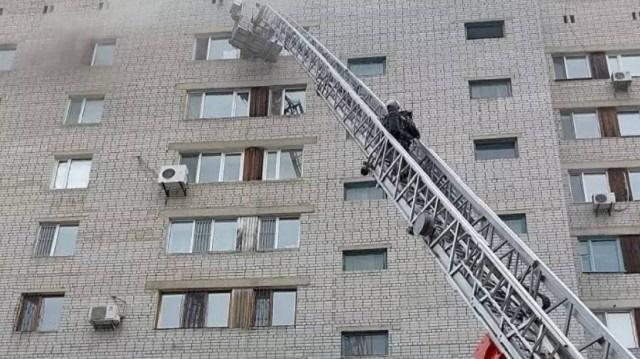 Спасаясь от пожара, девушка выпрыгнула с 9 этажа в Семее