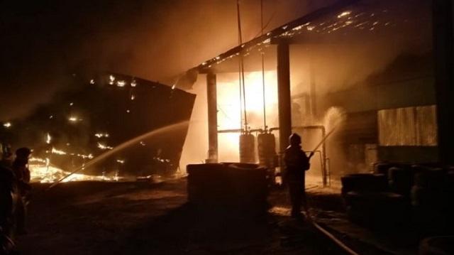 Взрыв на заводе в Алматинской области: Есть пострадавшие