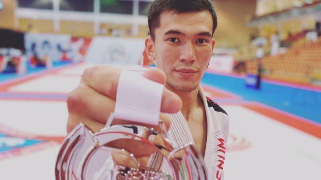 Костанаец стал вторым на чемпионате Азии по джиу-джитсу