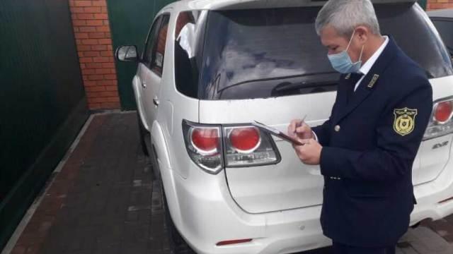 Полиция региона выявила два авто с поддельными номерами