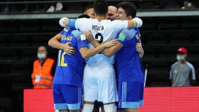 «Твори историю!»: Казахстан в полуфинале ЧМ-2021 по футзалу