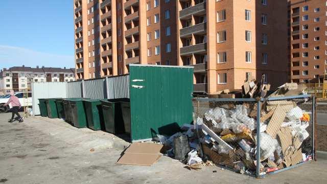 «Жалобы ежедневно»: Микрорайон страдает от гор мусора в Костанае