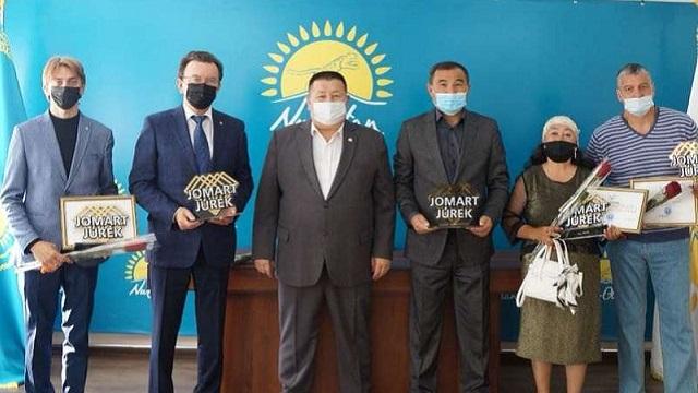 Аким Рудного поздравил обладателей премии «Жомарт жүрек»