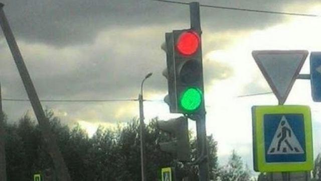 Причину сбоев в работе светофоров искали в Костанае