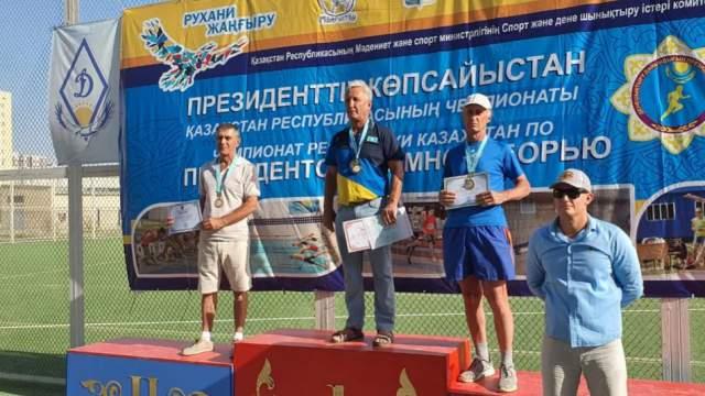Полиатлет из Рудного стал бронзовым призёром Казахстана