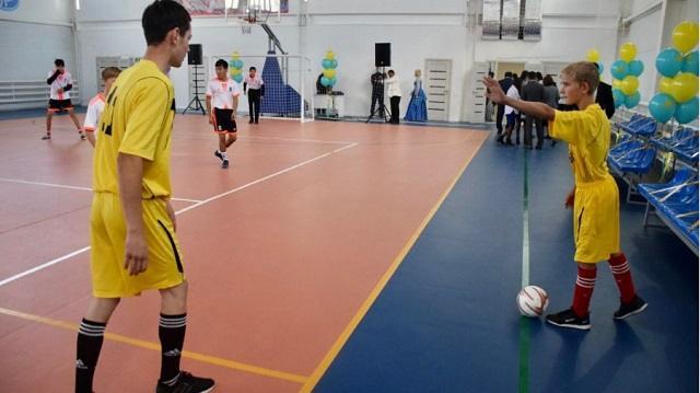 В селе Костанайской области открыли спорткомплекс за 459 млн тенге