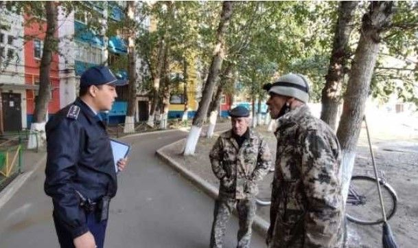 О новшествах в работе участкового рассказал инспектор из Костаная