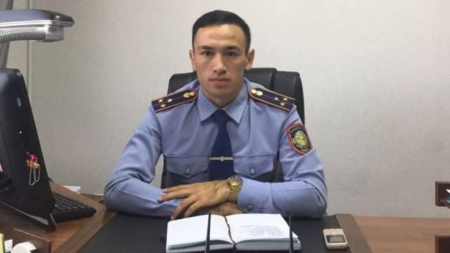 Лучшим оперативником Костанайской области стал Вахит Итесов