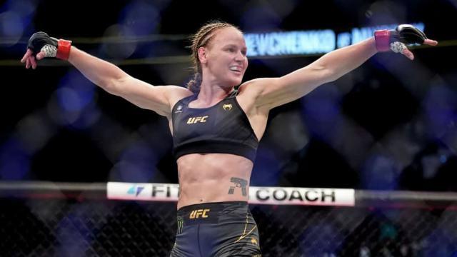 Валентина Шевченко защитила титул чемпионки UFC