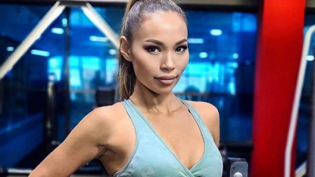 Многодетная мать стала фитнес-звездой после развода в Казахстане