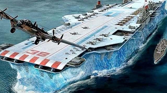 Можно ли построить корабль из льда?