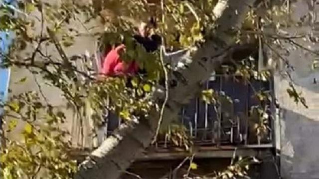 41–летняя рудничанка выпала с балкона четвертого этажа