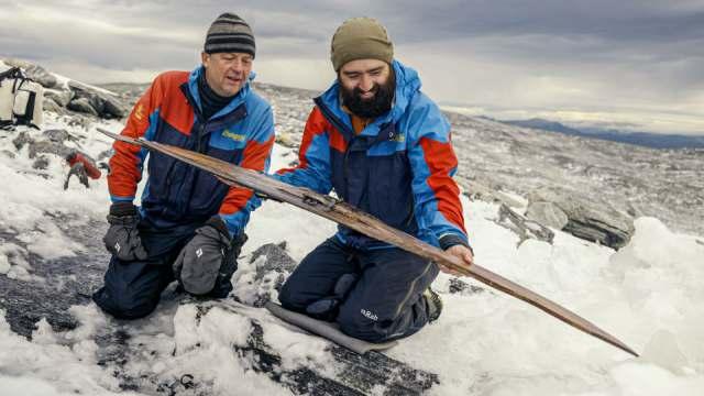 Археологи нашли лыжи возрастом 1300 лет в Норвегии