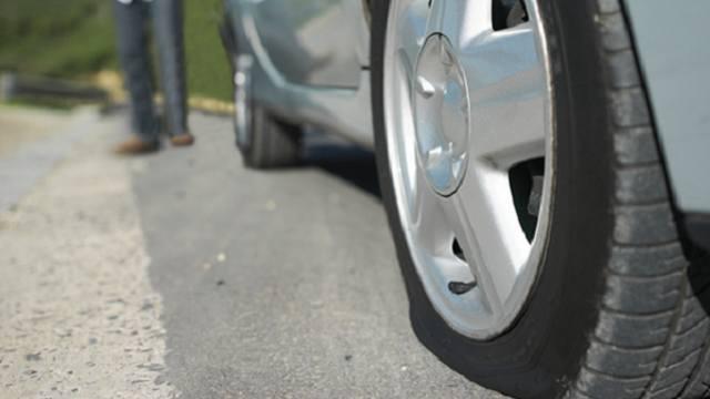 Как накачать колесо от двигателя автомобиля