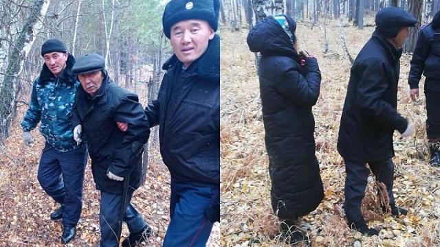 Заблудившиеся пенсионеры найдены в лесу Акмолинской области