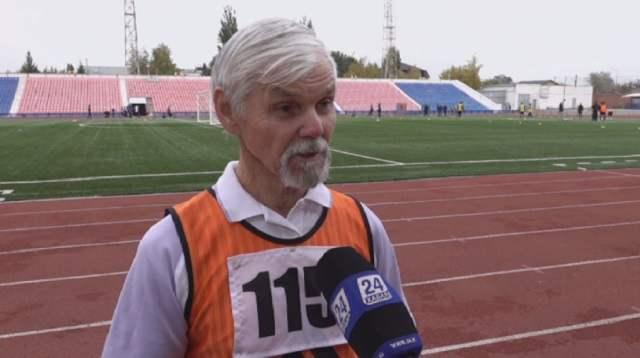 74-летний легкоатлет из Павлодара ставит рекорды в спринте