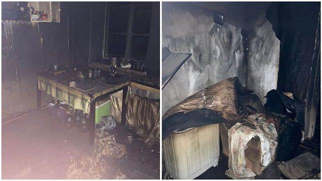 Женщина-инвалид заживо сгорела при пожаре в Балхаше