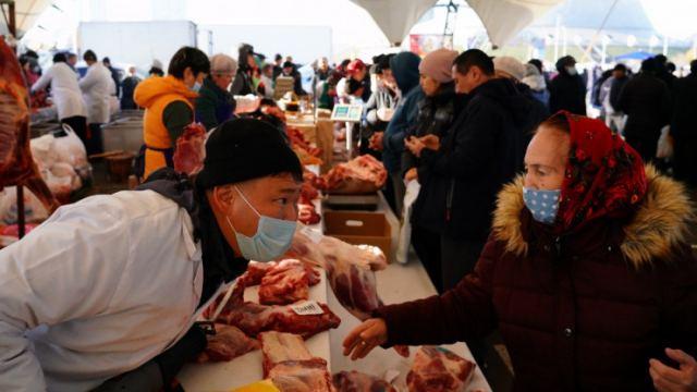 Ярмарка продуктов из Костанайской области проходит в Нур-Султане