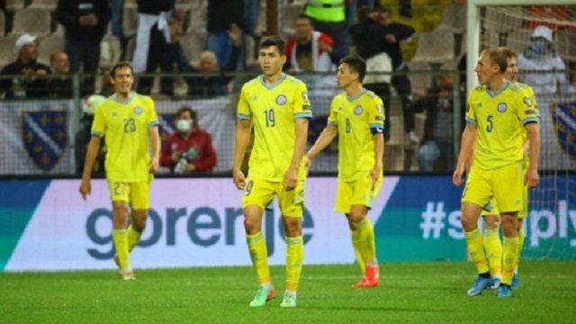 Сборная Казахстана проиграла дома Боснии и Герцеговине