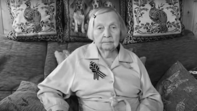 Умерла ветеран войны Зинаида Корнева, собиравшая деньги врачам